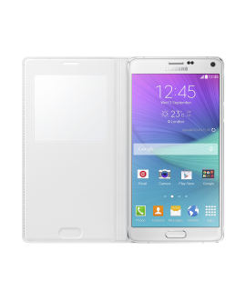 Samsung Galaxy Note 4 S-View Flip Cover - White