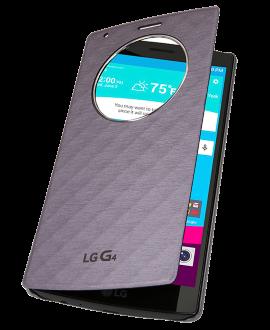 LG G4 Quick Circle Case - Gray