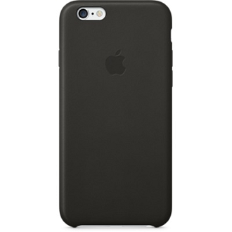 iPhone 6 Leather Case - Black