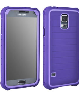 Samsung Galaxy S5 Body Glove SHOCKSUIT - Plum & Lavender