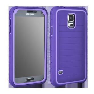 Samsung Galaxy S5 Body Glove SHOCKSUIT - Plum & Lavender