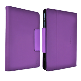 M-Edge Universal 7-inch Stealth Tablet Folio - Purple