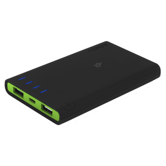 Incipio GHOST Portable Backup Battery with Qi and PMA