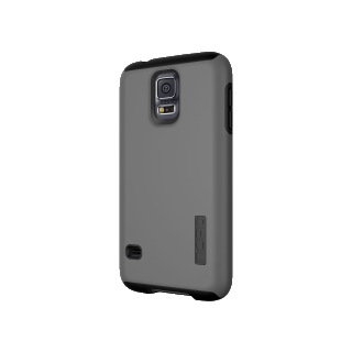 Samsung Galaxy S5 Incipio DualPro Case - Charcoal & Black