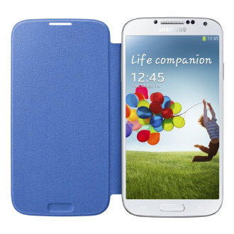 Galaxy S 4 Flip Cover - Blue