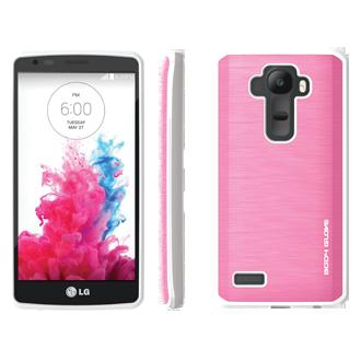 LG G4 Body Glove Fusion Silk Case - Pink & White