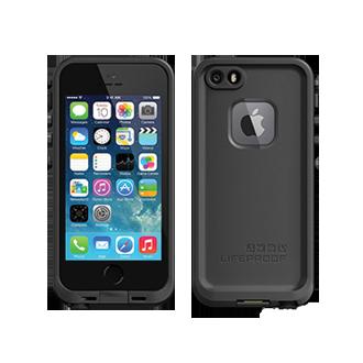 iPhone 5s LifeProof fre Case - Black