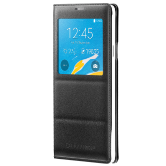 Samsung Galaxy Note 4 S-View Flip Cover - Charcoal