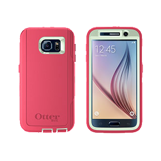 Samsung Galaxy S 6 OtterBox Defender Series Case - Melon Pop