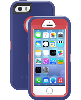 iPhone 5s OtterBox Defender Series Case - Berry