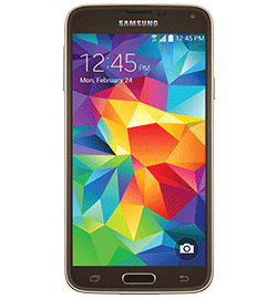 Galaxy S 5 - Gold - No Credit Check