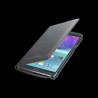 Samsung Galaxy S 6 edge Flip Cover - Black