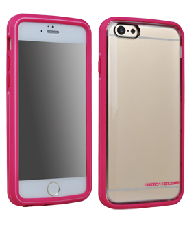 iPhone 6 Body Glove MYSUIT Case - Pink & Clear