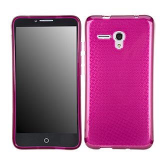 Alcatel OneTouch Fierce XL Flex Protective Cover - Berry