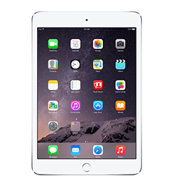 iPad mini 3 - Silver - 16GB - Cert. Pre-Owned