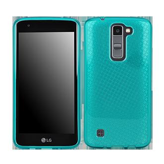 LG K7 Flex Protective Cover - Aqua