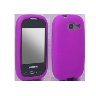 Samsung Gravity Q Gel Skin - Purple