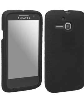 Alcatel OneTouch Evolve Gel Skin - Black