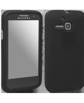 Alcatel OneTouch Evolve Gel Skin - Black