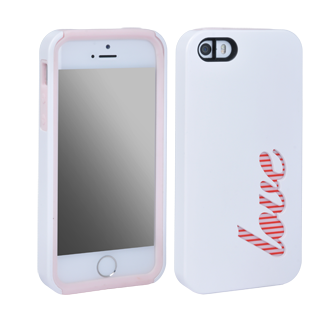 Apple iPhone 5/5s Peekaboo Case - Love