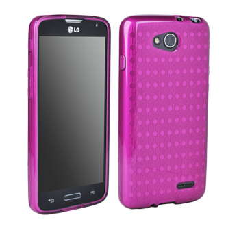 LG Optimus L90 Flex Protective Cover - Orchid
