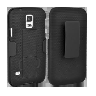 Samsung Galaxy S5 Shell/Holster Combination - Black