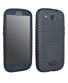 Samsung Galaxy S III iFrogs Protective Cover - Silver