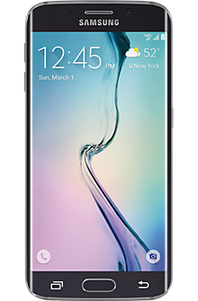 Samsung Galaxy S®6 edge 32GB in Black Sapphire
