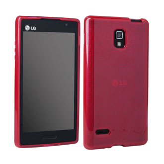 LG Optimus L9 Flex Protective Cover - Red