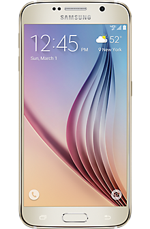 Samsung Galaxy S®6 64GB in Gold Platinum