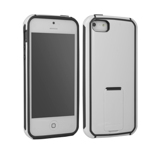 iPhone 5 Body Glove Fusion with DuraStand Case - White