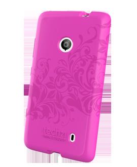 Nokia Lumia 521 D3O Impact Shell - Pink