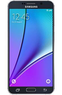 Samsung Galaxy Note5 64GB in Black Sapphire