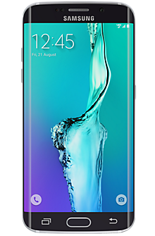 Samsung Galaxy S6 edge + 64GB in Black Sapphire