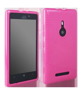 Nokia Lumia 925 D3O Impact Shell - Pink