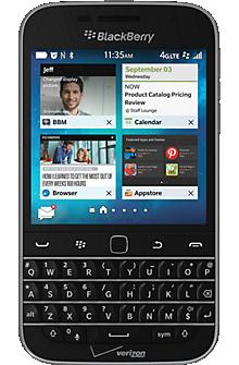 BlackBerry® Classic Non Camera in Black