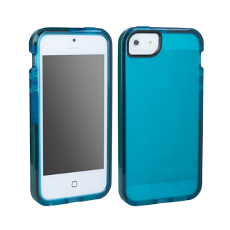 iPhone 5 D3O Impact Shell - Turquoise