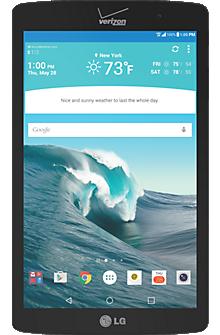 LG G Pad™ X8.3 in Black