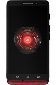 DROID Mini by Motorola in Red