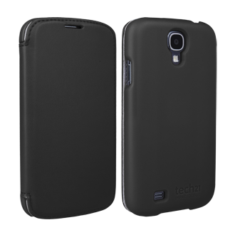 Galaxy S 4 D3O Impact Snap Case with Cover - Black