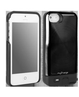 iPhone 5 myCharge Freedom 2000 Charging Case - Black