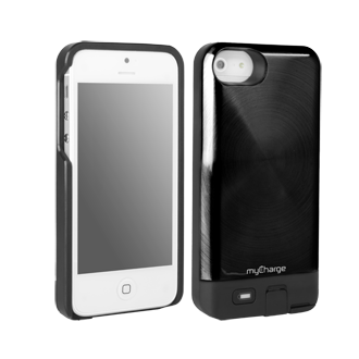 iPhone 5 myCharge Freedom 2000 Charging Case - Black