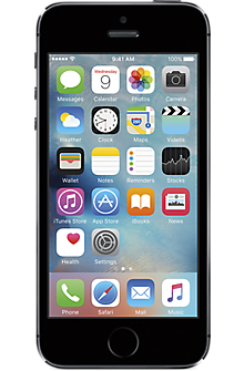 Apple® iPhone® 5s 16GB in Space Gray