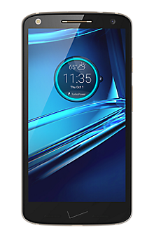 DROID TURBO 2 32GB in Black-Pebble Leather