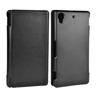Sony Xperia Z1S Tech 21 Impact Snap Case with Cover - Black