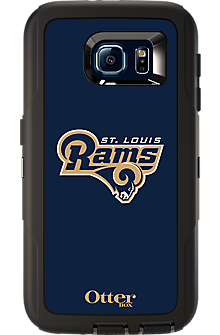 NFL Defender by OtterBox for  Samsung Galaxy S 6 - St Louis Rams