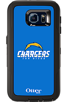 NFL Defender by OtterBox for  Samsung Galaxy S 6 - San Diego Chargers