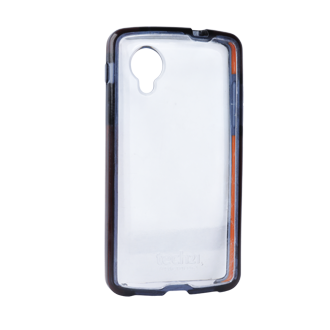 Google Nexus 5 Tech 21 Impact Snap Case - Clear with Black