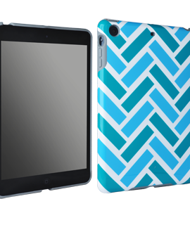 iPad mini M-Edge Echo Shell - Brick Chevron