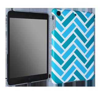 iPad mini M-Edge Echo Shell - Brick Chevron
